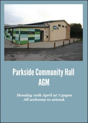 Parkside Hall AGM @ Parkside Community Hall | United Kingdom