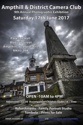The Ampthill & District Camera Club - Annual Exhibition @ Parkside Community Hall | Ampthill | United Kingdom