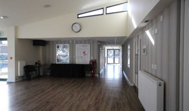 Foyer Area Bar : Foyer and bar parkside community hall