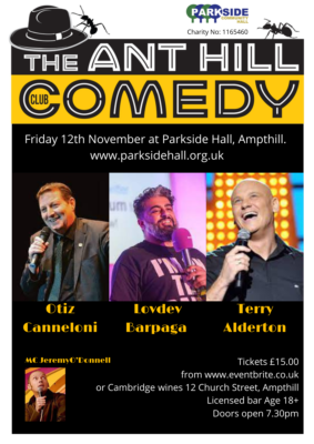 The ANT HILL Comedy Club @ Parkside Community Hall | Ampthill | England | United Kingdom