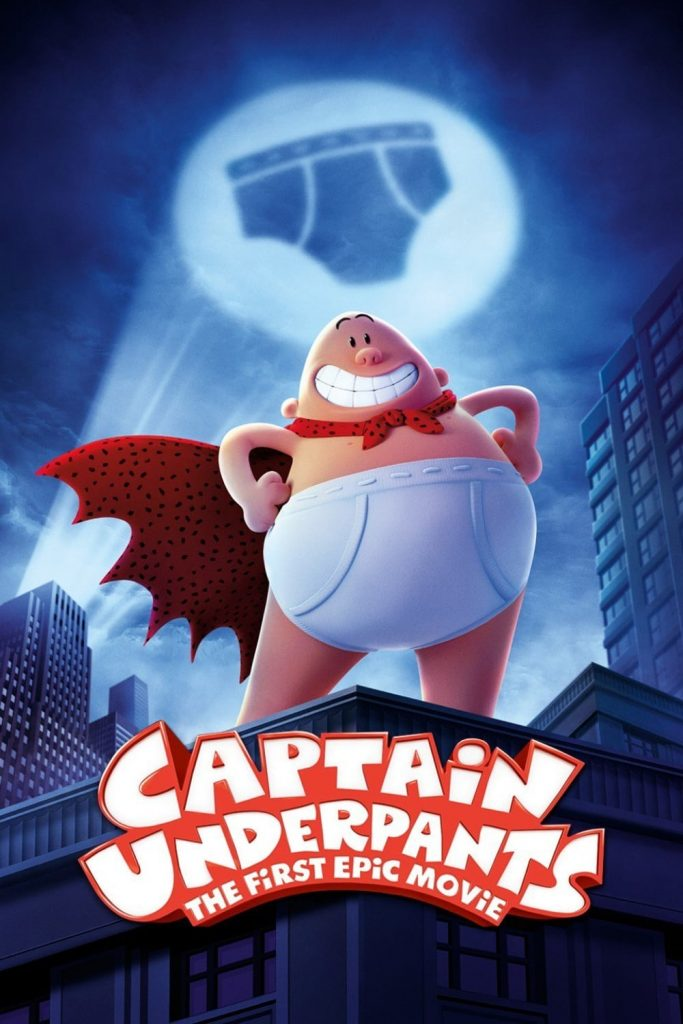 Zonita Cinema - Captain Underpants: The First Epic Movie @ Parkside Community Hall   Ampthill   England   United Kingdom