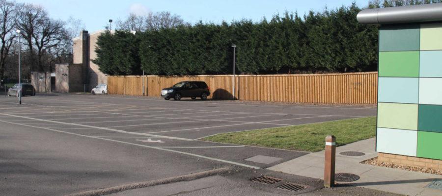 Car parking at the rear