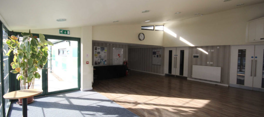 Main entrance to the foyer area