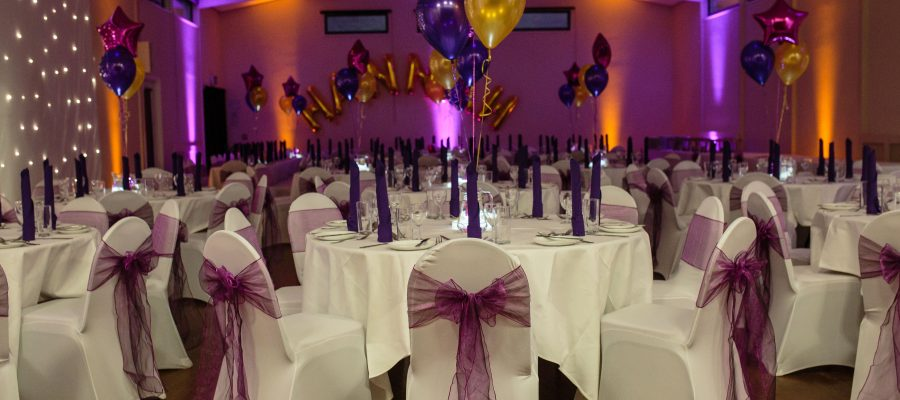 Main Hall setup for a Bat Mitzvah party Photo: ©Catherine Pound Photography